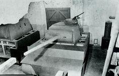 Tiger I Ausf. H2 wooden mockup