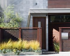 front yard privacy garden fence ideas bushes front door