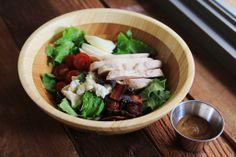 Cobb Salad with Bacon  Turkey Breast
