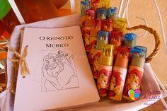 Livro e lápis para colorir - Lembrancinhas