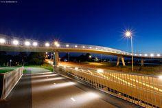 fiets- en voetgangersbrug Heerhugowaard, design by ipv Delft