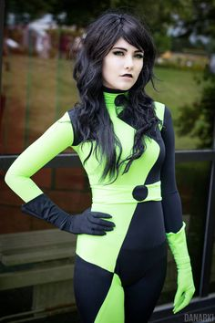 "Drakken (left on the #1) and Shego (right on the #1) from Kim Possible ""  Cosplayers: • Yumidun [DA 
