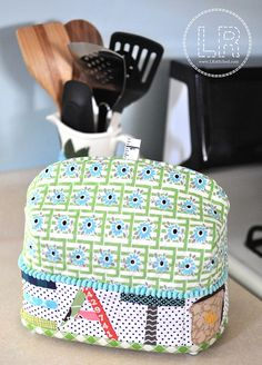 Toaster Cozy by LRstitched, via Flickr