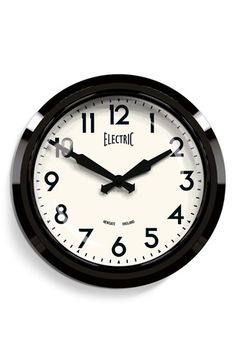 Newgate 'Electric' Wall Clock available at #Nordstrom