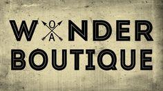 """Our logo: Printr-un joc de cuvinte cheie – Wonder (minune/ minunăţie) şi Wander (a călători/ a umbla), alăturat cuvântului Boutique, vrem să exprimăm pe scurt conceptul nostru cheie: un butic ambulant, cu mici """"minunăţii"""" pentru toţi şi toate, care ţinteşte cu fiecare ediţie tot mai sus :)"""