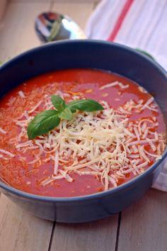 Clean Recipes, Soup Recipes, Diet Recipes, Vegetarian Recipes, Cooking Recipes, Healthy Recipes, Cooking Ideas, Hungarian Recipes, Food Is Fuel