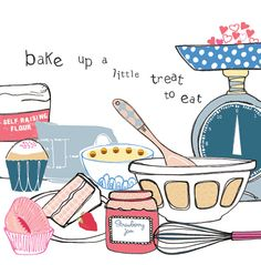 kitchen and baking // stop the clock design