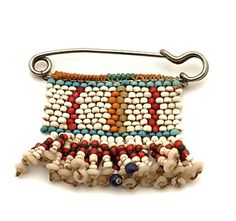 Sotho-Hlubi beaded blanket pin. Southern Africa. Early 1900's. Collection Geneva Museum.