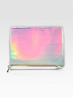 Marc by Marc Jacobs Techno Holographic Leather Tablet Case on shopstyle.com