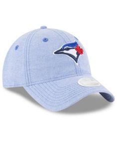 buy online 9ed8c 9f3c1 New Era Toronto Blue Jays Team Linen 9TWENTY Strapback Cap   Reviews -  Sports Fan Shop By Lids - Men - Macy s