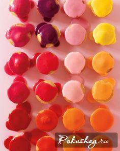 Цветная глазурь для капкейков