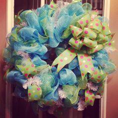 DecoMesh Wreath