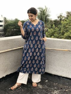Pin on 6 Yards of Grace Simple Kurti Designs, Kurta Designs Women, Kurti Neck Designs, Kurti Designs Party Wear, Blouse Designs, Office Wear Women Work Outfits, Casual Fall Outfits, White Outfits, Stylish Dresses For Girls