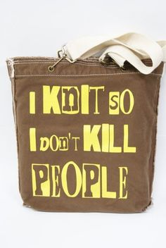 6b323cda36 So true and would love to work this into a knitted bag! (Also true