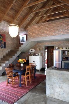 Steve & Debbie's Barn-Style Home in South Africa — House Tour Village House Design, Village Houses, Barn Houses, Best House Plans, Architecture Plan, Home Fashion, Home Deco, House Tours, New Homes