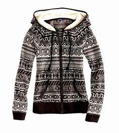Black & White Cozy Fur Hoodie   Fashionista Tribe