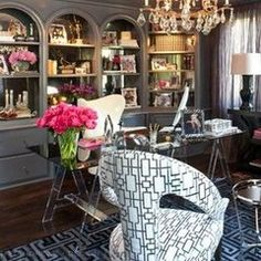 kris kardashian office decor - Google Search