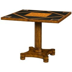 Theodore Alexander Maker Circle To Square Game Table