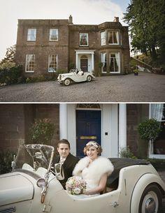 Downton Abbey Inspired wedding shoot!