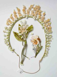 Bridal Wax flowers.