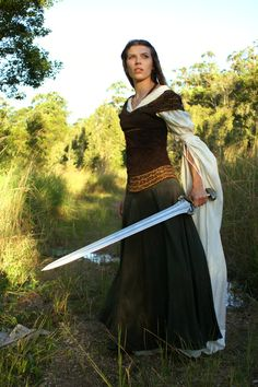 Maiden with a sword
