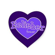 Belieber Forever Sticker - Justin Bieber