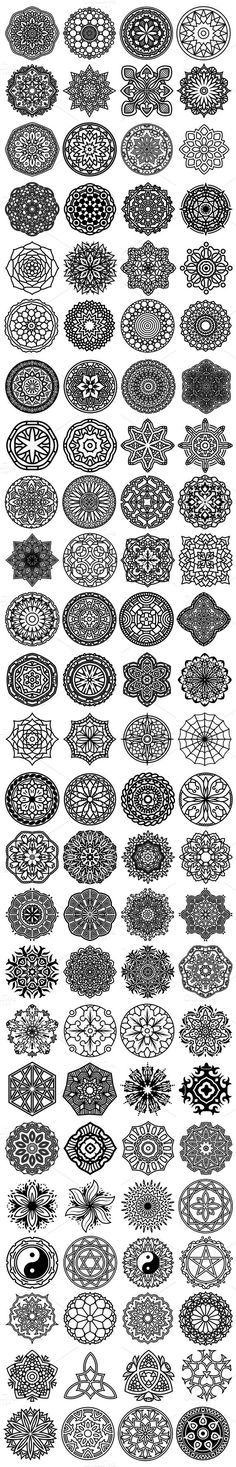 new Ideas tattoo mandala design drawings zentangle patterns Mandala Design, Mandala Art, Lotus Mandala, Mandala Symbols, Mandala Drawing, Mandala Sleeve, Henna Designs, Tattoo Designs, Design Tattoos