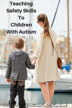 Ways to teach children with autism much needed safety skills.  Teaching safety skills to children with autism is imperative in our rapidly changing unsafe world. Most children have this innate sense of dangeg that keeps them relatively safe.  Our children with autism lack any sense of danger which inherently puts them in more danger than the average child. Read more at:  http://ourcrazyadventuresinautismland.com/teaching-safety-skills-to-children-with-autism/