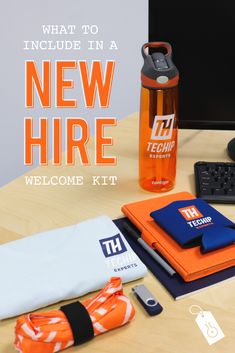 A key part of the onboarding process is making sure that your new colleague feels welcome at your company and there's no better way to ensure this than with some sweet new hire welcome gifts with your logo! Welcome New Employee, Welcome To The Team, Employee Gifts, Corporate Branding, Corporate Gifts, Branding Design, Onboarding New Employees, Company Swag, Employee Recognition