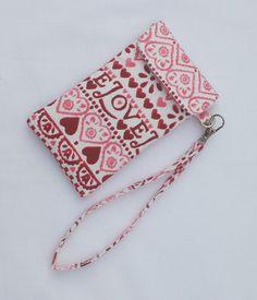 Phone cover Emma Bridgewater Fabric Padded by FullColour on Etsy