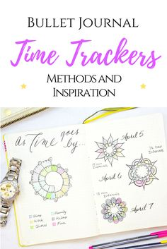 6 ways to track time in your Bullet Journal explained!
