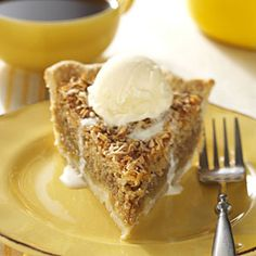 Vermont Maple Oatmeal Pie