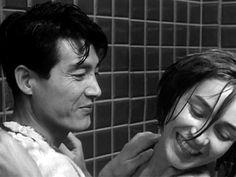 Emmanuelle Riva and Eiji Okada in Hiroshima, mon amour