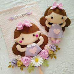 Felt Crafts, Fabric Crafts, Diy And Crafts, Felt Doll Patterns, Baby Knitting Patterns, Felt Fabric, Fabric Dolls, Diy For Kids, Crafts For Kids