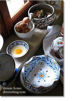 Dinnerware from Tuscany & Umbria