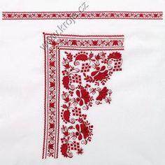 Výšivka na košili Podluží - polotovar 152 | Kroje.cz