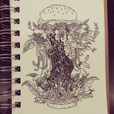 More doodly doodles  and the tail-end of my inktober stuff by Tait Howard