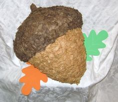 MADE TO ORDER - Acorn Pinata - Traditional. $32.00, via Etsy.
