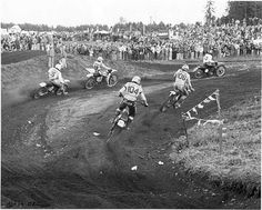 Buck Murphy - Washington State Motorcycle Hall of Fame Vintage Motocross, Vintage Racing, Washington Heights, Washington State, Shawn Mcdonald, Mx Racing, Triple Jump, Motocross Riders, Dirtbikes