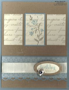 SSC179 Charming Triptych Wishes by Michelerey - Cards and Paper Crafts at Splitcoaststampers