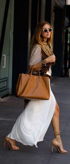Handbag: Prada.