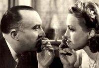 Adina Mandlova and Oldrich Novy from movie       Kristian.