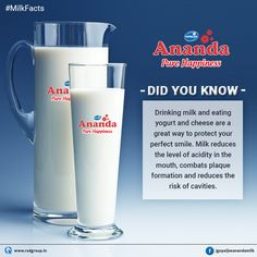 Cheers to a glass full of goodness!! #Milk is the natural health drink. Here are some essential reasons to love each glass of milk. #MilkFact #PureHappiness #Ananda