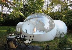Inflatable bubble tent outdoor with 2 tunnels - Discontinued by Manufacturer Bubble tent http://www.amazon.co.uk/dp/B00G73OQWM/ref=cm_sw_r_pi_dp_Cyxaxb0YQK5RX