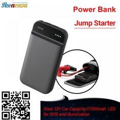 Jump Starter car Booster 11100mAh Power Bank //Price: $65.99 & FREE Shipping // #beauty #beautiful #girl
