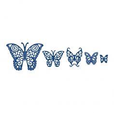 Tattered Lace Dies - Butterflies