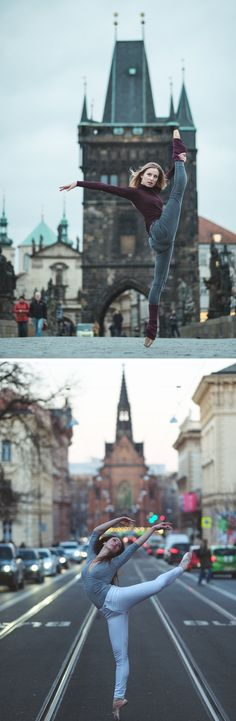 Omar Z. Robles recently visited Prague, where he continued his well-known series capturing dancers as they move through the city streets.