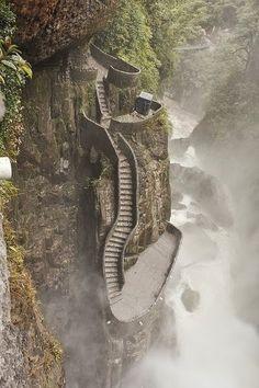 Wonderful Places -Pailón del Diablo - Ecuador
