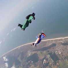 Training day #7th wingsuit competition