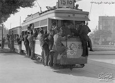خط ترامواي العتبة - الجيزة سنة 1936